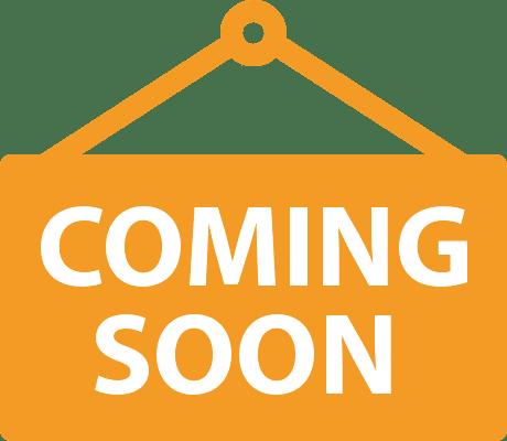 Coming soon: In kürze verfügbar